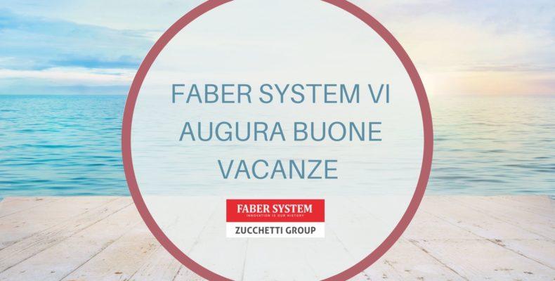 CHIUSURA ESTIVA DEGLI UFFICI COMMERCIALI E AMMINISTRATIVI 2021 FABER SYSTEM